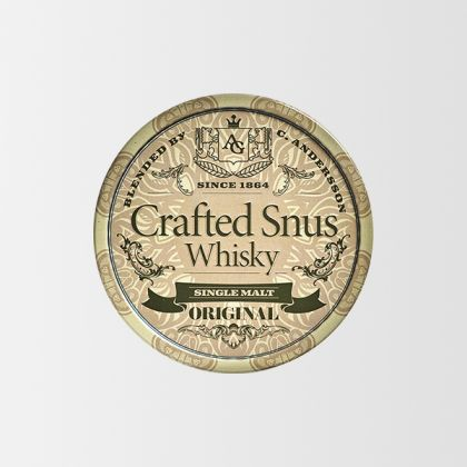 Conny Andersson Crafted Snus Whisky Original