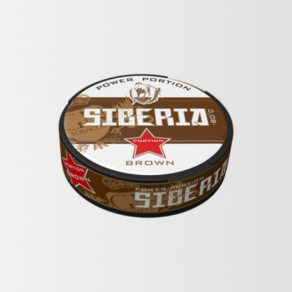 Siberia -80 Brown Portion