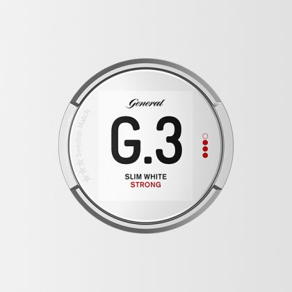 G.3 Slim White Strong