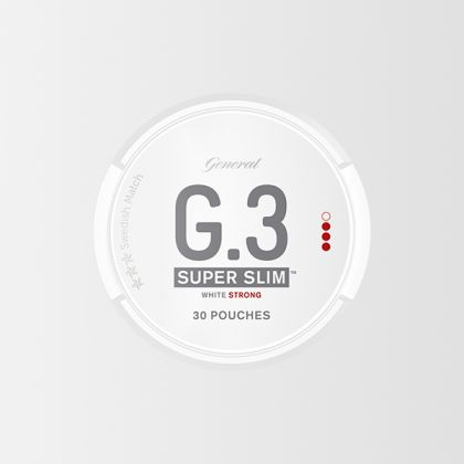 G.3 Super Slim Strong White