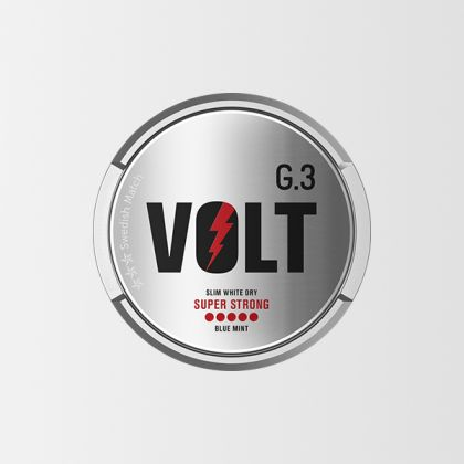 G.3 Volt Super Strong Slim White Dry