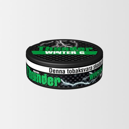 Thunder Wintergreen Extra Strong
