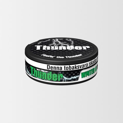 Thunder Wintergreen Extra Strong White