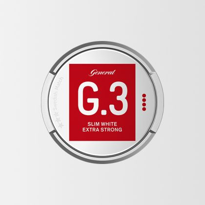 G.3 Extra Strong Slim White