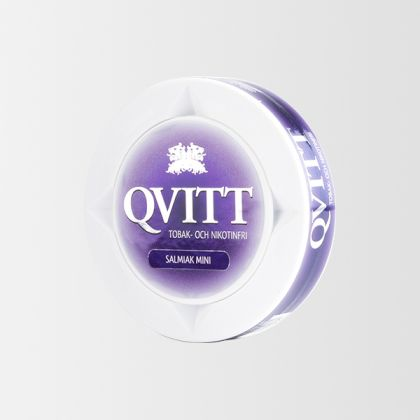 Qvitt Salmiak Mini