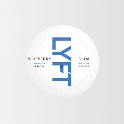 Lyft Blueberry Slim All White