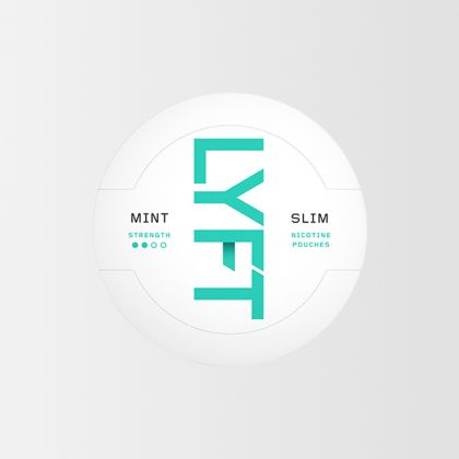 Lyft Mint Slim All White