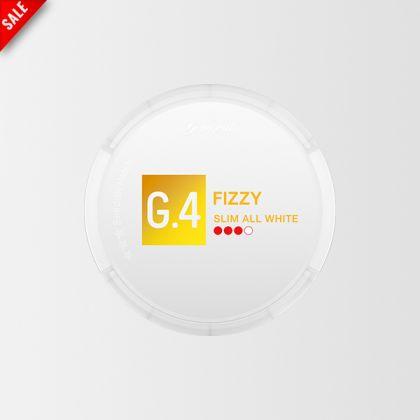 G.4 Fizzy Slim All White