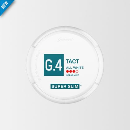 G.4 Tact Super Slim All White