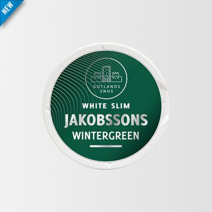 Jakobsson's Wintergreen Slim White Portion