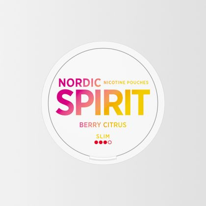 Nordic Spirit Berry Citrus Slim All White