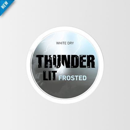 Thunder Lit Frosted White Dry