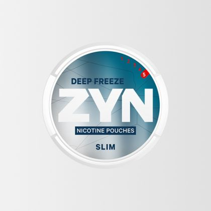 ZYN Deep Freeze Slim Super Strong