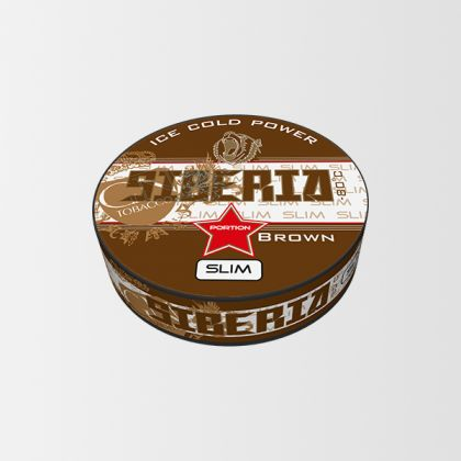 Siberia -80 Brown Slim