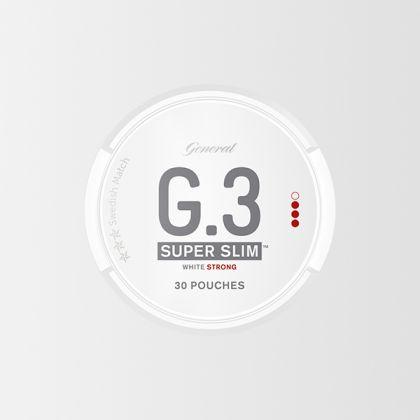 G.3 Super Slim Strong White