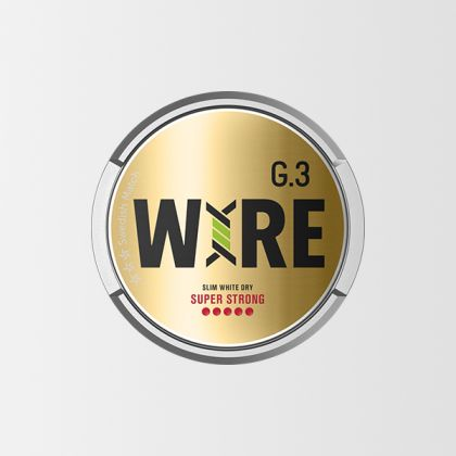 G.3 Wire Super Strong Slim White Dry