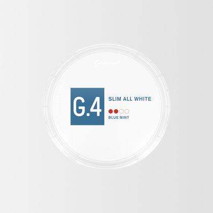 G.4 Blue Mint Slim All White