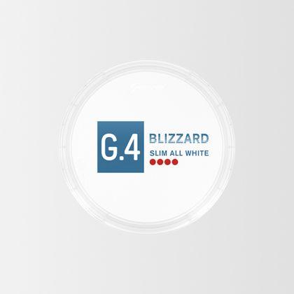 G.4 Blizzard Slim All White