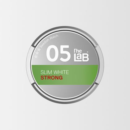The Lab 05 Strong Slim White