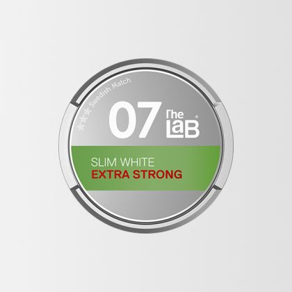 The Lab 07 Extra Strong Slim White