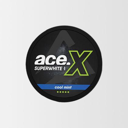Ace X Super White Slim All White
