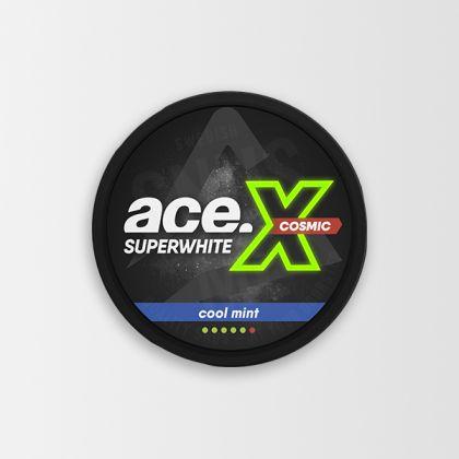 Ace X Super White Cosmic Cool Mint