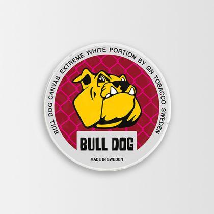Bull Dog Canvas Extreme White