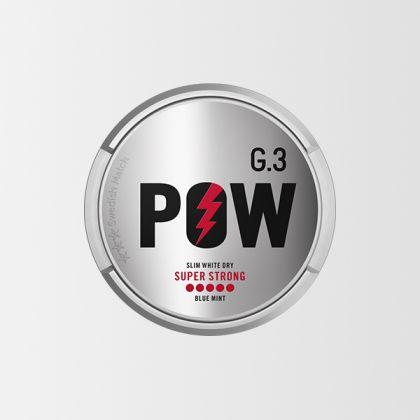 G.3 POW Super Strong Slim All White