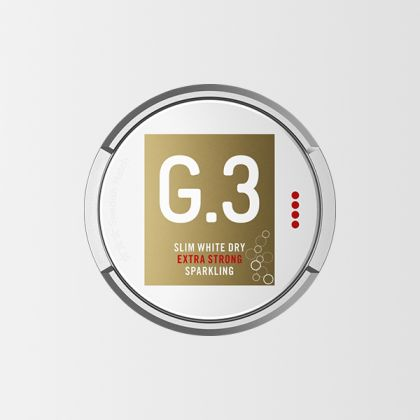 G3 Sparkling Slim White Dry Extra Strong