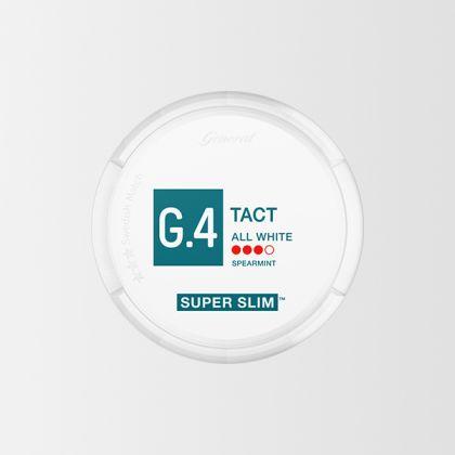 G.4 Tact Super Slim All White