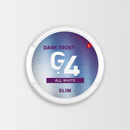G.4 Dark Frost Slim All White