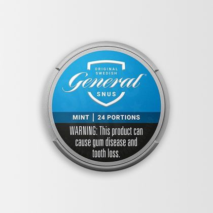 General White Mint Portion