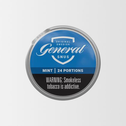 General White Mint Portion