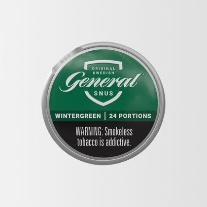 General Wintergreen White Portion