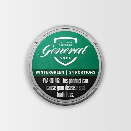 General Wintergreen White Portion