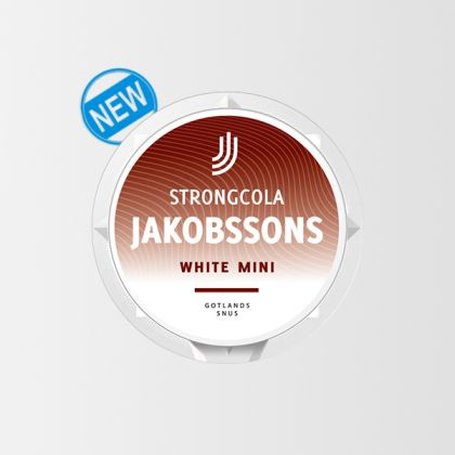 Jakobssons StrongCola White Mini
