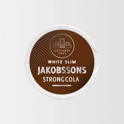 Jakobssons Strong Cola Slim White
