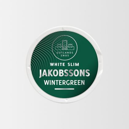 Jakobssons Wintergreen Slim White