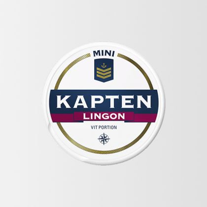 Kapten Mini Lingon White