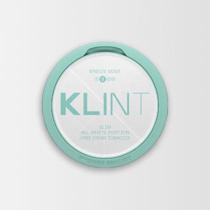 Klint Breeze Mint Slim All White