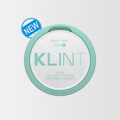 KLINT Freeze Mint Extra Strong Slim All White