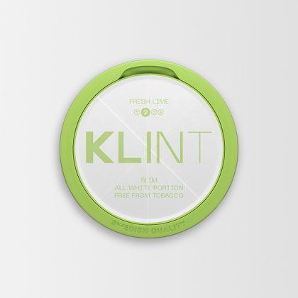Klint Fresh Lime Slim All White