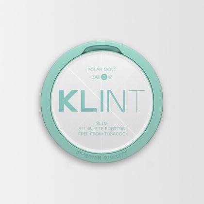Klint Polar Mint Strong Slim All White