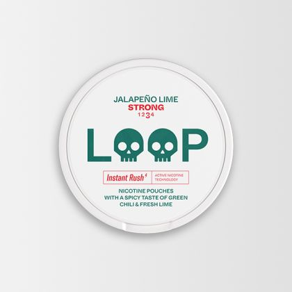 Loop Jalapeño Lime Strong