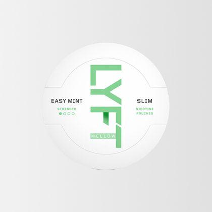 LYFT Mellow Easy Mint Slim All White