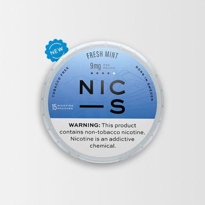 NIC-S Fresh Mint 9mg