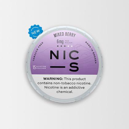NIC-S Mixed Berry 6mg