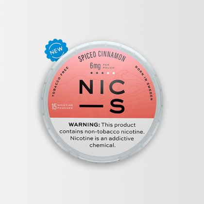 NIC-S Spiced Cinnamon 6mg