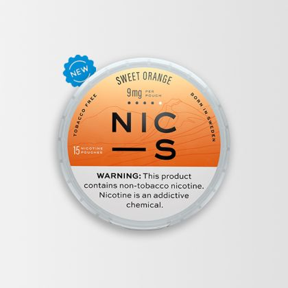 NIC-S Sweet Orange 9mg