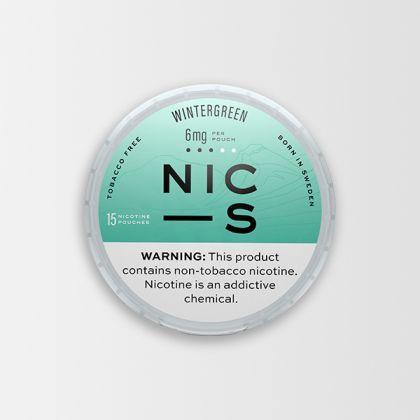 NIC-S Wintergreen 6mg